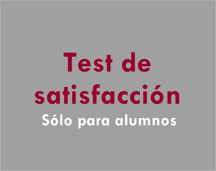 Test de satisfacción
